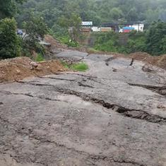 North East: Rain and landslide damage major roads, Manipur cut off from rest of the country