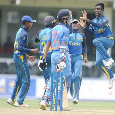 Sri Lanka U-19 team beat India by seven runs in third Youth ODI, lead series 2-1