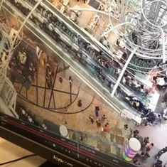 Watch: Escalator reverses direction at high speed in Hong Kong shopping mall, many hurt in pile up