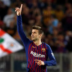 Football: Gerard Pique hit with €48,000 fine for driving without a valid licence