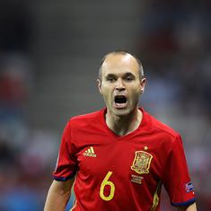 'I'm leaving with a nasty taste in the mouth': Iniesta quits international football after Spain exit