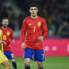 Spain has no striker in Euro 2016, they said, but maybe they forgot Alvaro Morata