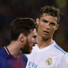 I'd like him to come to Italy one day: Cristiano Ronaldo to Lionel Messi