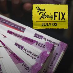 Your Morning Fix: Why did the rupee fall to an all-time low against the US dollar?
