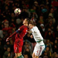 World Cup qualifiers: Portugal smash three past Hungary, Bulgaria stun Netherlands 2-0