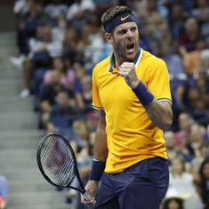 Del Potro seals first ATP Finals spot since 2013 after reaching China Open quarters
