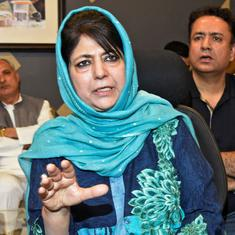 Mehbooba Mufti faces rebellion within People's Democratic Party after fall of government in J&K