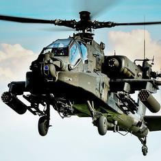 अपाचे हेलीकॉप्टरों की पहली खेप भारत पहुंची