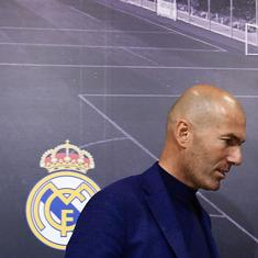 First, as a player and now, as a coach: Zinedine Zidane, the master of dramatic exits