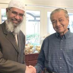 मलेशिया के प्रत्यर्पण से इंकार के बाद जाकिर नाइक ने वहां के प्रधानमंत्री से मुलाकात की
