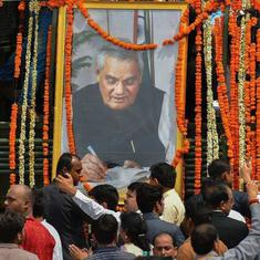 At Vajpayee funeral, crowds of young admirers who discovered him through the RSS – and YouTube