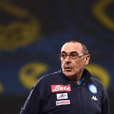 'The timing wasn't respected': Chelsea manager Sarri found out his sacking from Napoli on TV