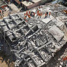 Greater Noida building collapse toll rises to nine, search operation underway