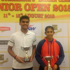 Squash: Yash Fadte and Sanya Vats win titles at Indian Classic Junior Open