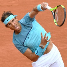 For 'King of Clay' Rafael Nadal, the real action starts now