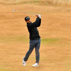 Golf: Shubhankar Sharma close to first PGA Tour title after joint lead at CIMB Classic