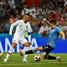 Watch out, France: Uruguay's organisational skills were too good for Cristiano Ronaldo's Portugal
