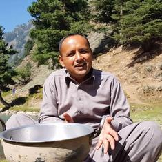 A Pakistani villager's cooking channel on YouTube has made him a food celebrity