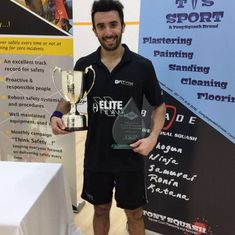Vikram Malhotra prevails in all-Indian final to win North of Scotland Open squash tournament