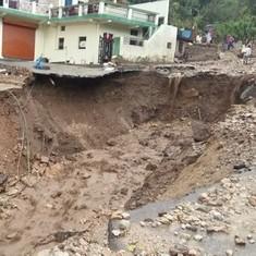 Uttarakhand cloudbursts: Villages damaged, pilgrims stranded and animals buried under debris
