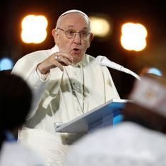 Pope Francis says he is ashamed by Church's failure to address sexual abuse allegations