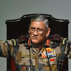 Readers' comments: 'General Rawat's views about Kashmir come from his on-ground experience'