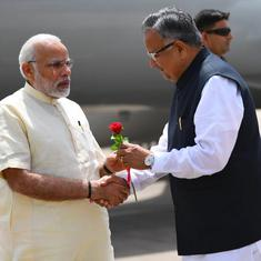 Development is the only answer to violence, says Narendra Modi in Chhattisgarh