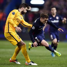Gerard Pique denies he knew about Antoine Griezmann's decision to snub Barcelona
