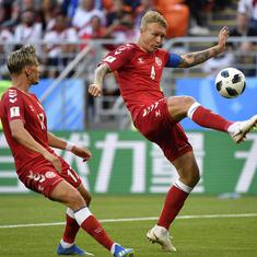 Fifa World Cup: Peru sparkle but are punished by Denmark for lack of finesse in front of goal