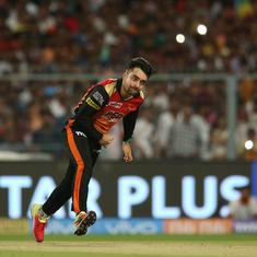 'We're going to keep Rashid Khan wrapped up for the final,' says Sunrisers' Kane Williamson