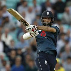England labour to three-wicket win chasing 215 against Australia in 1st ODI