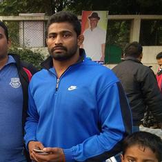 Former national medallist Ravi Barod dies during a mud wrestling bout in Madhya Pradesh