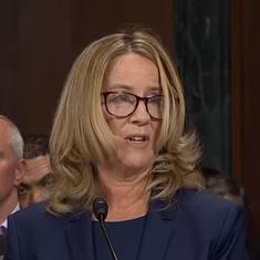 Watch Christine Blasey Ford's charged testimony on being assaulted by Brett Kavanaugh
