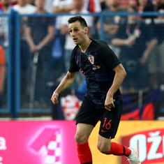 Fifa World Cup: Croatia's Kalinic not dropped but sent back due to injury, says coach Dalic