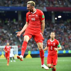 Fifa World Cup: Switzerland through to the last 16 after 2-2 draw with Costa Rica