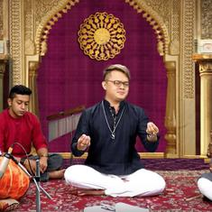 Watch: A Chinese singer wins over social media with his Carnatic music performance