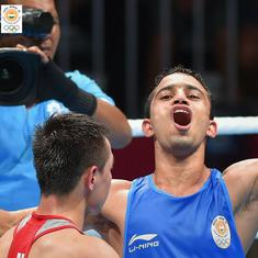 Asian Games: Amit Panghal beats reigning Olympic champion to win a stunning boxing gold