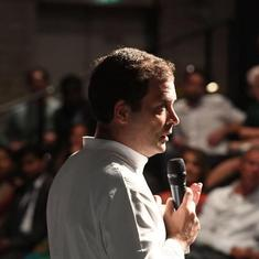 London: Congress President Rahul Gandhi compares RSS to Muslim Brotherhood organisation