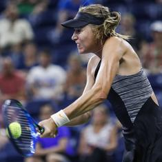 US Open, Day 2 women's roundup: Sharapova spoils Schnyder's return, Wozniacki, Kerber win