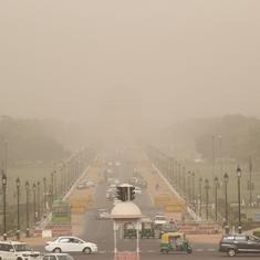 Air quality in Delhi deteriorates beyond 'severe' level due to dust storm in western India