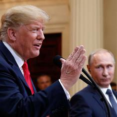 US: White House denies President Donald Trump said Russia is no longer a threat