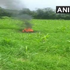 भारतीय वायुसेना का मिग-21 विमान दुर्घटनाग्रस्त, पायलट की मौत