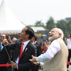 भारत और इंडोनेशिया मिलकर हिंद महासागर में सैन्य बंदरगाह बनाएंगे
