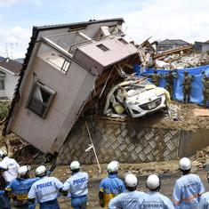 Japan: Toll rises to 100 as torrential rain causes flooding, landslides