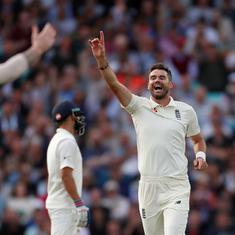 James Anderson leads England's charge as India completely squander momentum in the fifth Test