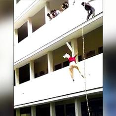 Tamil Nadu: College student dies after jumping off building during safety drill