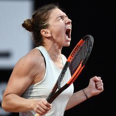 Italian Open: Halep defeats Sharapova to set up final rematch with Svitolina