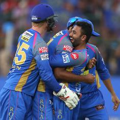 RR vs RCB, as it happened: Gopal's four-for keeps Rajasthan in playoff race, seals Bangalore's exit