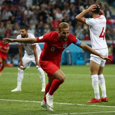 World Cup: Captain Harry Kane scores late winner as England beat Tunisia 2-1