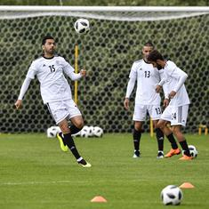 US sanctions force Nike to cut boots deal with Iran team days before opening World Cup match